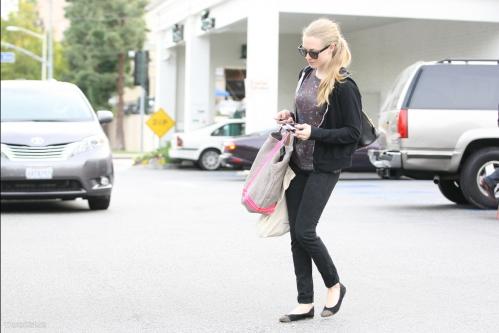 Amanda out in LA