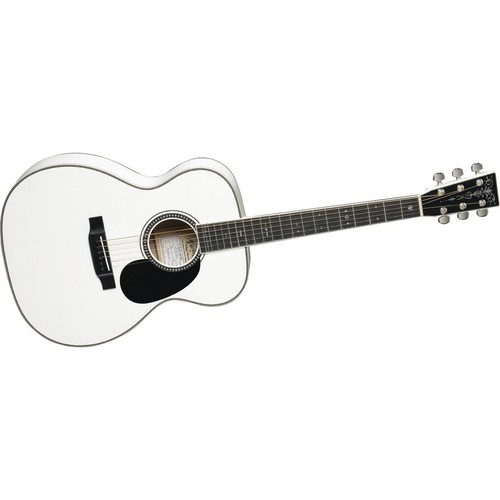 An identical image of my white acustic gitaar