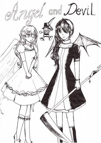 অ্যাঞ্জেল and Devil