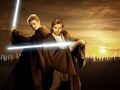 Ani and Obi - obi-wan-kenobi-and-anakin-skywalker photo
