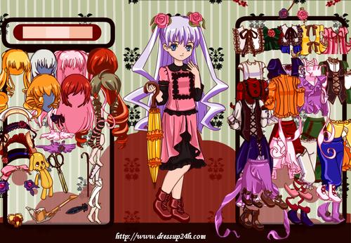 Dressup24h.com Images Anime Games