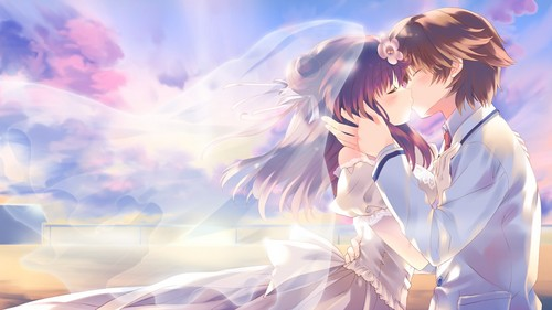 runochan97 images Anime Wedding HD wallpaper and background photos