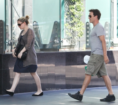 Anna & Stephen out in Santa Monica