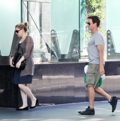 Anna & Stephen out in Santa Monica