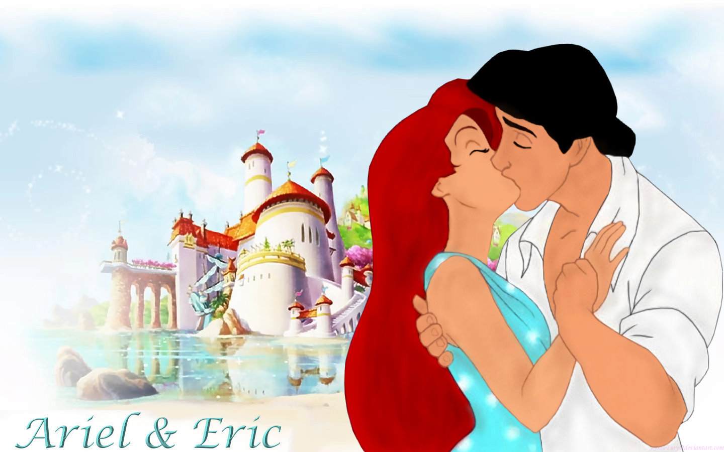 Disney Princess Valentines Day Images Ariel Eric HD Wallpaper And Background Photos