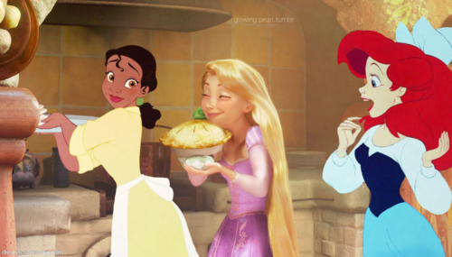 Ariel is keen on cooking! and eating.. :D