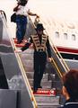 Arriving In Honolulu, Hawaii Back In 1997 - michael-jackson photo