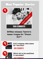 Allkpop Article about SHINee Taemin has been the most popular for one day on 02/08/2013