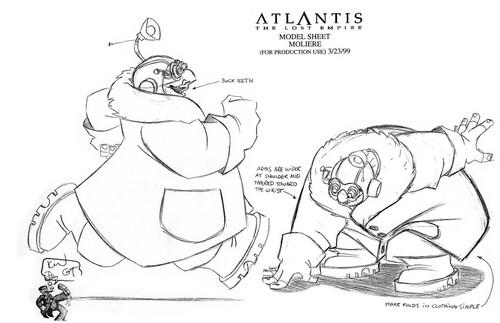 Atlantis The ロスト Empire