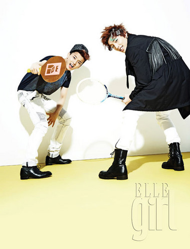 B.A.P for ELLE Girl