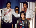 Backstage With Yoko Ono And Son, Sean Lennon - michael-jackson photo
