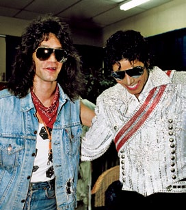 Backstsge During The Victory Tour Back In 1984