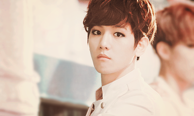 EXO-K wallpaper probably containing a portrait entitled Baekhyun ~♥