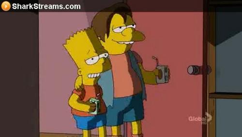 Bart & Nelson Shading
