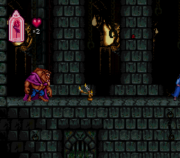 Beauty and the Beast (video game) screenshot