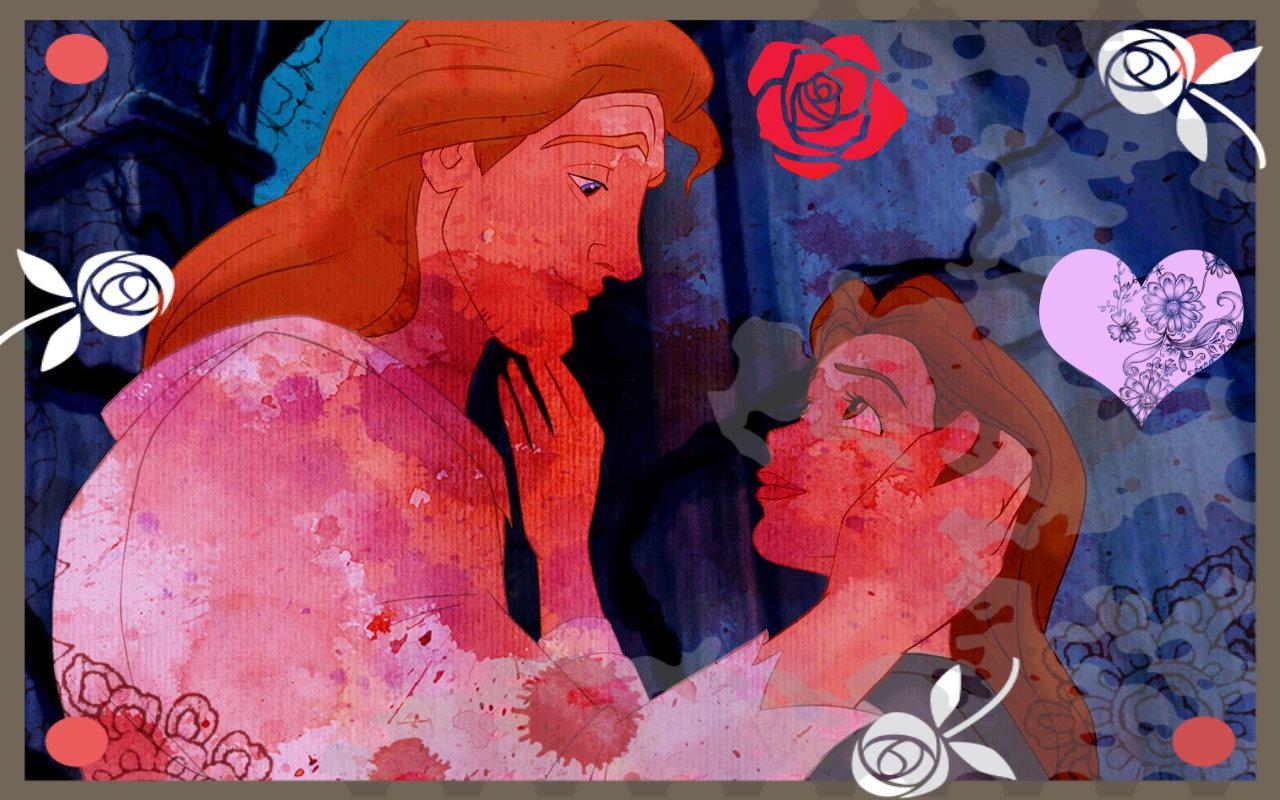 Must see Wallpaper Disney Valentines - Belle-Beast-disney-princess-valentines-day-33589496-1280-800  Picture_74421 .jpg