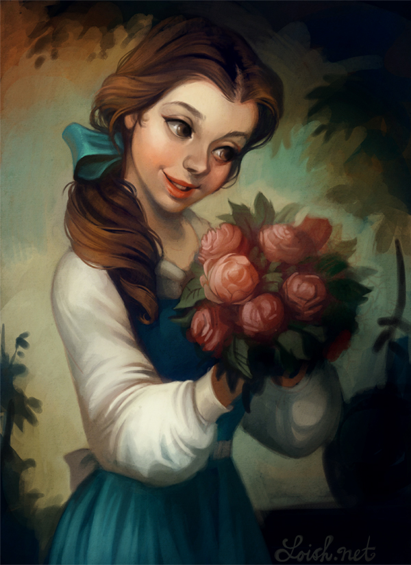 Belle - Beauty and the Beast Fan Art (33593288) - Fanpop