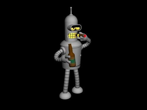 Bender Bending Rodriguez 3D