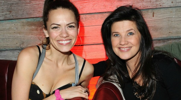 Bethany Joy Lenz and Daphne Zuniga