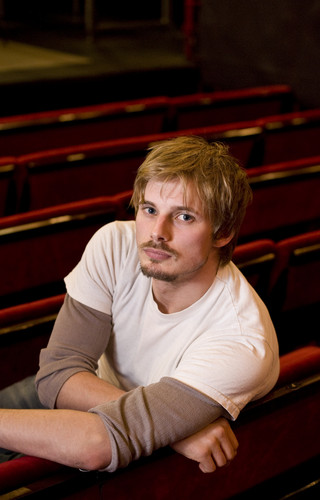 Bradley James wallpaper possibly containing a diner, a pew, and a pianist titled Bradley