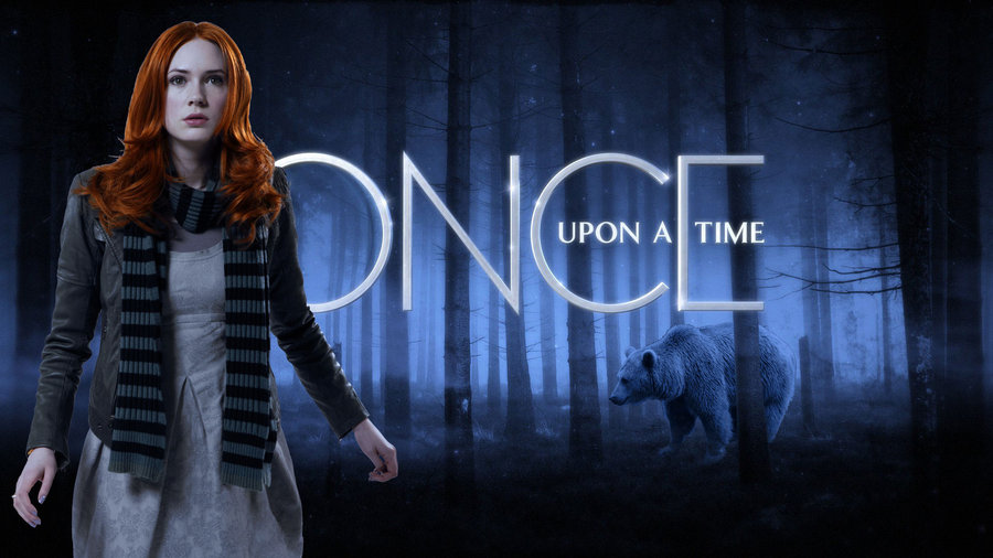Merida in Once Upon a Time played by Karen Gilian