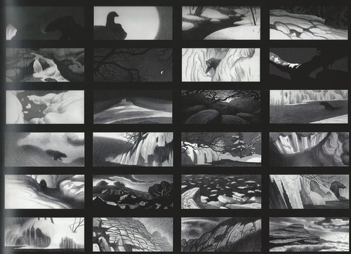 The Art Of Brave: Storyboards