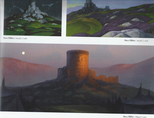 The Art Of Brave: castello DunBroch Concept Arts