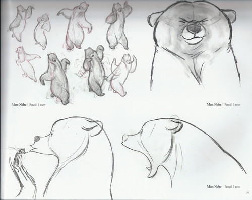 The Art of Brave: Mumbear Scketches