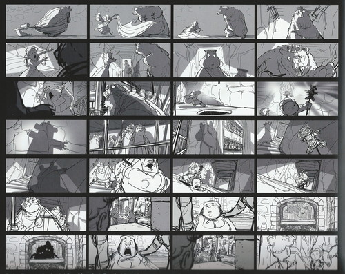 Ribelle - The Ribelle - The Brave wallpaper titled The Art Of Brave: Storyboards