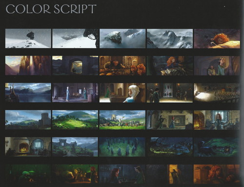 The Art Of Brave: Color Script