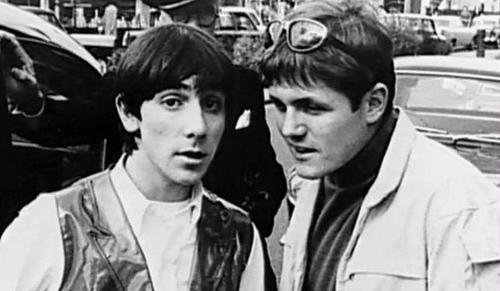 Bruce Johnston & Keith Moon