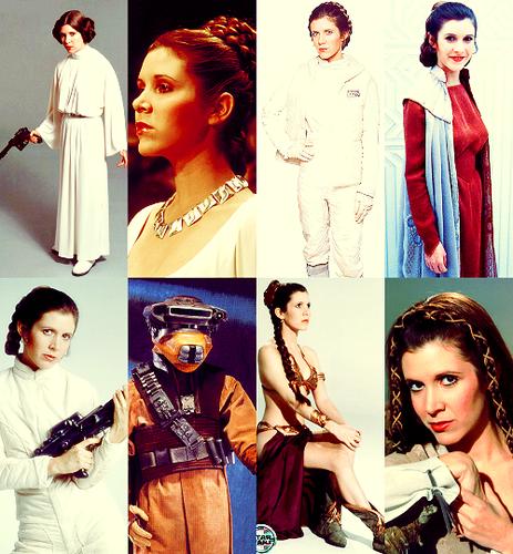 Carrie as Leia
