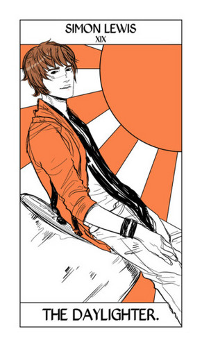 Cassandra Jean's Tarot Cards: Simon Lewis {The Daylighter}.