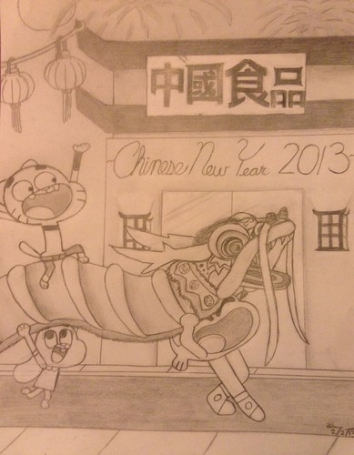 Chinese New jaar 2013