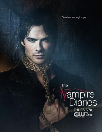 Damon & Elena images Damon Salvatore poster wallpaper and ...