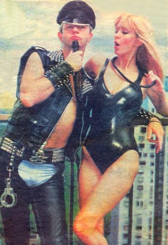 Doro with Rob Halford (Judas Priest)