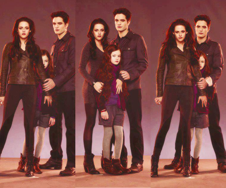 Edward, Bella&Nessie