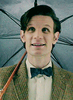 The Eleventh Doctor photo possibly with a parasol entitled Eleventh Doctor