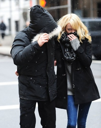 Emma & Andrew out in NYC