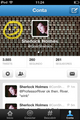 FOLLOW ON TWITTER! - sherlock photo