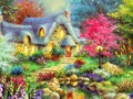 Fairy Cottage - cynthia-selahblue-cynti19 wallpaper