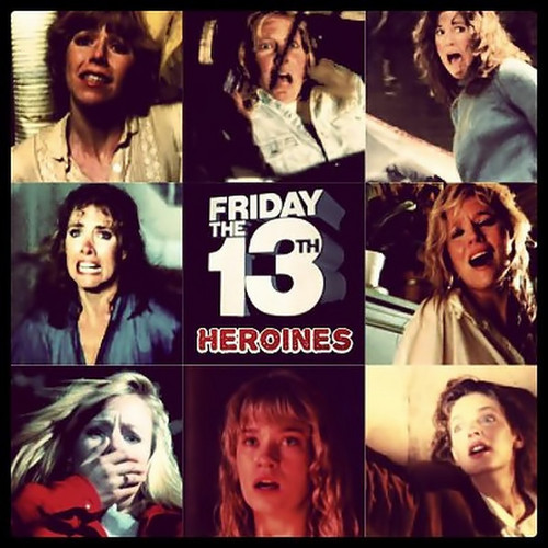 फ्राइडे द थर्टीन्थ वॉलपेपर probably containing ऐनीमे entitled Friday the 13th Heroines