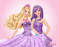 Friends in purple - barbie-movies fan art