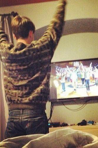 GC Dancing along to HSM♥