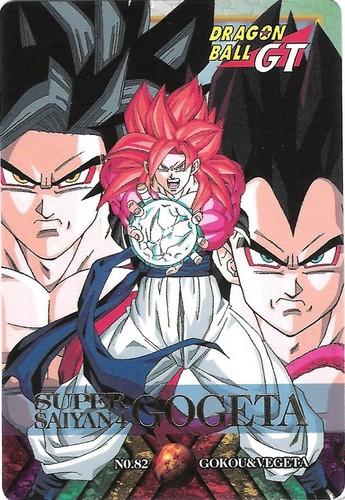 Gogeta SSJ4 CARD