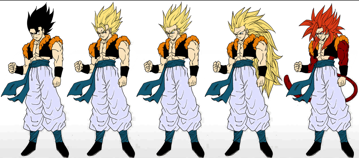 dragon ball all fusion images gogeta all forms hd