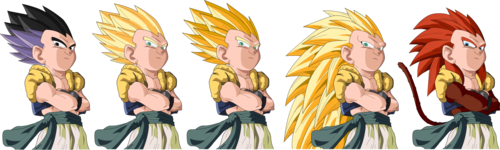 Gotenks All Forms