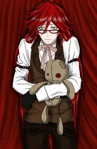 black butler wallpaper entitled Grell Sutcliffe