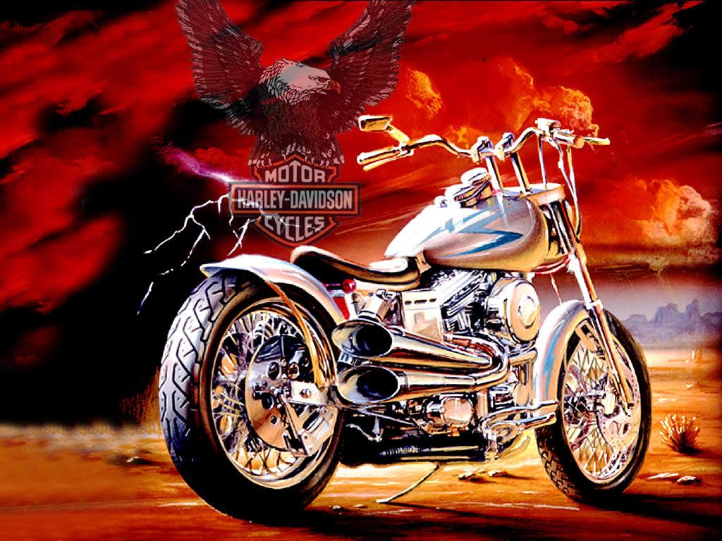 Populaire Harley-Davidson Bilder HARLEY DAVIDSON HD Hintergrund and  HU06