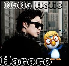 Running Man (런닝맨) wallpaper probably with sunglasses titled Haha+Pororo=Haroro